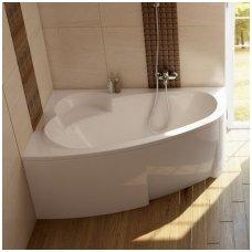 Ravak asimetrinė akrilinė vonia Asymmetric 160x105cm