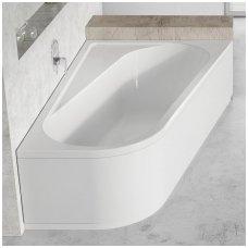 Ravak asimetrinė akrilinė vonia Chrome 170x105cm