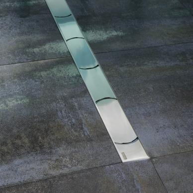 Ravak nerūdijančio plieno dušo latakas Chrome 750mm