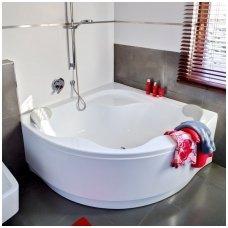 Ravak kampinė akrilinė vonia Gentiana 140x140cm