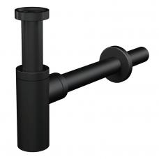 Alca Plast sifonas praustuvui Design A400BLACK juodas matinis