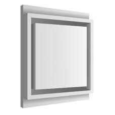 Kvadratinis priglaistomas difuzorius SQUARE Dn125