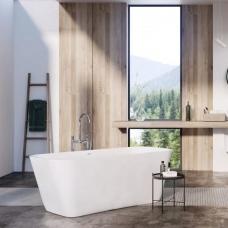 Balteco akmens masės vonia COMO 170x75cm