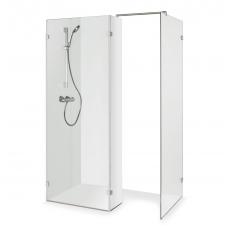 Baltijos Brasta dušo kabina be durelių BONA 140x90cm