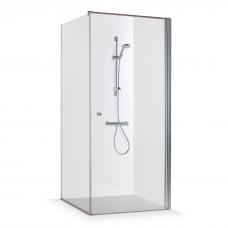 Baltijos Brasta kampinė dušo kabina KRISTINA 100x100cm