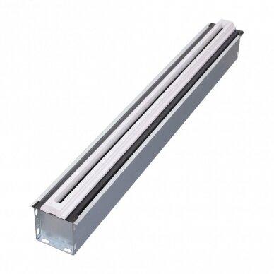 """Berėmis plyšinis difuzorius """"LINE"""" ilgis 1,25m., 18mm pločio plyšys 4"""