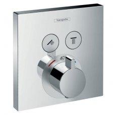 Hansgrohe Select virštinkinė dalis termostatiniam maišytuvui 2-jų funkcijų