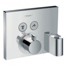 Hansgrohe Select virštinkinė dalis termostatiniam maišytuvui 2-jų funkcijų su laikikliu