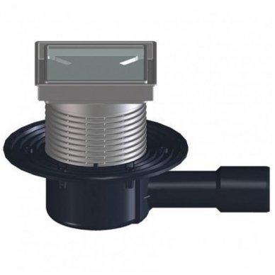 HL510NPr-3020 sausas trapas su grotelėmis plytelei įklijuoti, vertikalus Dn50/40