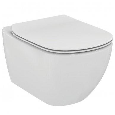 Ideal Standard pakabinamas unitazas TESI AquaBlade® su lėtai nusileidžiančiu dangčiu 2