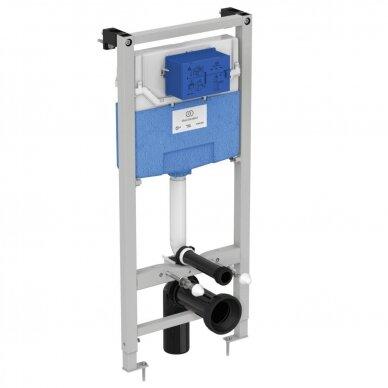 Ideal Standard WC rėmas ir Connect Air pakabinamas klozetas su Soft Close dangčiu 2