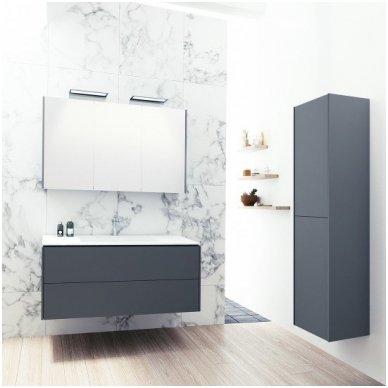 Kamė vonios kambario baldų komplektas D-LINE 120