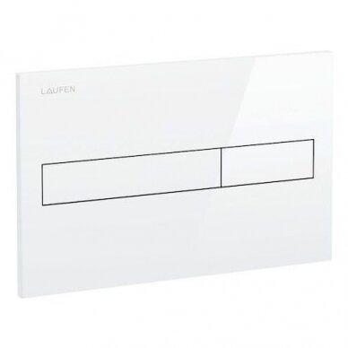 Laufen WC klavišas rėmui LIS Dual Flush, baltas