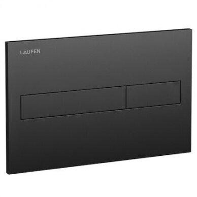 Laufen WC klavišas rėmui LIS Dual Flush, juodas