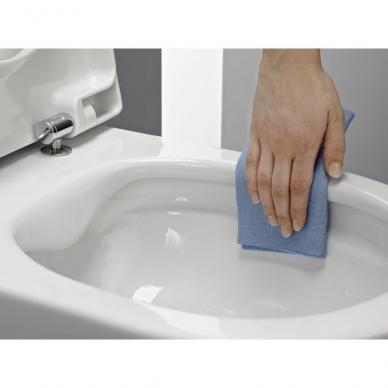Laufen WC rėmas ir Pro New Rimless pakabinamas klozetas su lėtai nusileidžiančiu plonu dangčiu 3