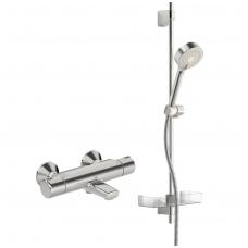 Oras Nova 7414U termostatinis vonios ir dušo maišytuvas su dušo komplektu