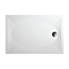 PAA akmens masės dušo padėklas ART 90x120 + panelis ir kojos