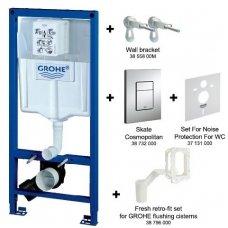 Potinkinis WC rėmas Grohe Rapid SL 5in1