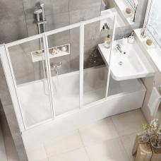 Ravak asimetrinė akrilinė vonia BeHappy II 150x75cm