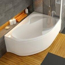 Ravak asimetrinė akrilinė vonia Rosa II 150x105cm