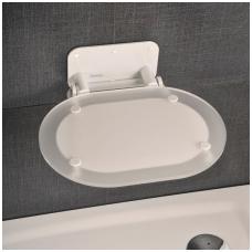 Ravak dušo sėdynė Chrome skaidri/balta