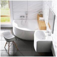 Ravak kampinė akrilinė vonia Gentiana 150x150cm