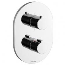 Ravak termostatinis potinkinis maišytuvas Chrome, trijų išvadų CR 067.00