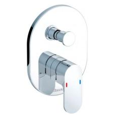 Ravak sieninis vonios maišytuvas Chrome CR 022.00/150