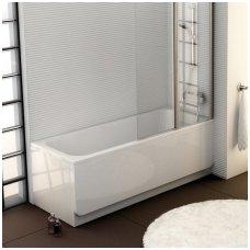 Ravak stačiakampė akrilinė vonia Chrome 160x70cm