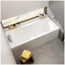 Ravak stačiakampė akrilinė vonia Campanula II 170x75cm