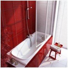 Ravak stačiakampė akrilinė vonia Vanda II 160x70cm