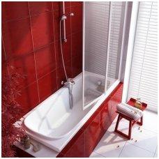 Ravak stačiakampė akrilinė vonia Vanda II 170x70cm