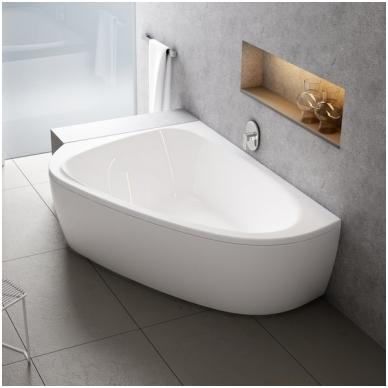 Ravak asimetrinė akrilinė vonia LoveStory II 196x139cm