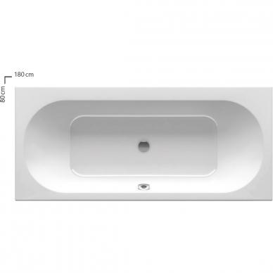 Ravak stačiakampė akrilinė vonia City 180x80cm 2