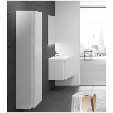 Ravak veidrodis 10° 550 mm su lentynėle, baltas 3