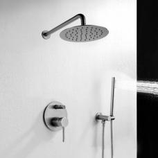 REA potinkinis dušo maišytuvo komplektas Lungo Chrom