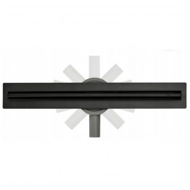 REA juodas dušo latakas Neo SLIM Black Pro 900mm 3