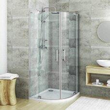 ROTH pusapvalė dušo kabina su atveriamomis durimis GR2N/900-1000