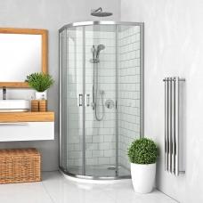 ROTH pusapvalė dušo kabina su slankiojančiomis durimis LLR2/800