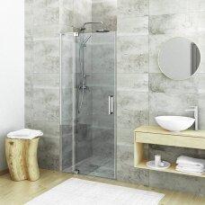ROTH atveriamos dušo durys GDO1N/1100 su profilių rinkiniu GZN