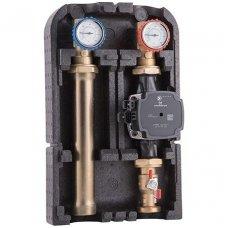 Tiesioginio srauto mazgas Dn25 šildymo sistemoms, be siurblio