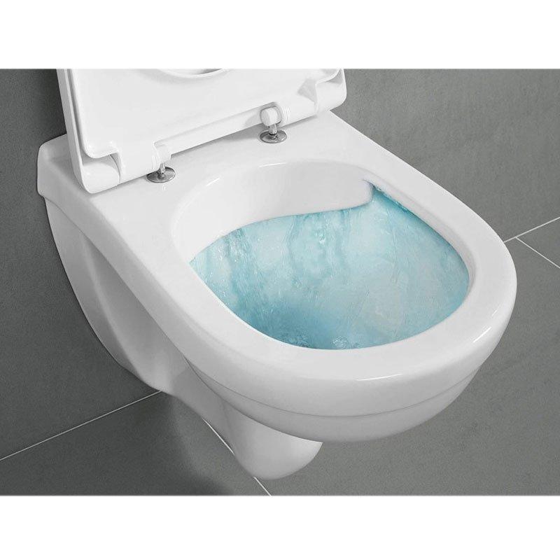 Ideal Standard Wc E Bidet Uniti.Villeroy Boch Pakabinamas Unitazas O Novo Direct Flush Su Lėtai Nusileidziandciu Dangciu